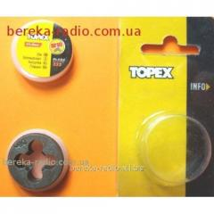 Die of M10 25 x 9 mm Topex 14A310