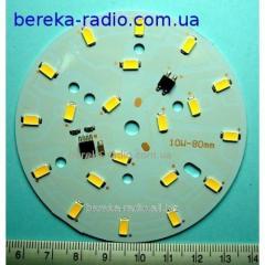 Sv_tlod_odny d=80mm module 220VAC 10W B_ly-teply