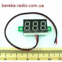 The voltmeter of bezkorpusniya 0.36'' DC