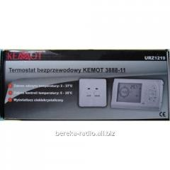 Temperature regulator of programovaniye of