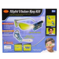 Игровой шпионский набор с микрофоном и очками с