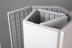 Polyfoam for a heat-insulated floor of 20 mm with