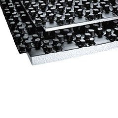 Mat for a heat-insulated floor of 30 mm studded,