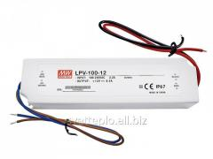 IP67 Mean Well power supply unit 100W 12V