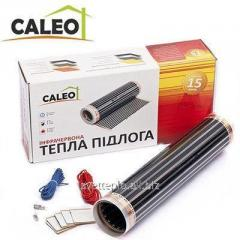 Heat-insulated floor of Caleo Classic 220-0,5-1.0