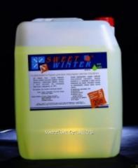 Favorable Sweet Winter antifreeze for autonomous
