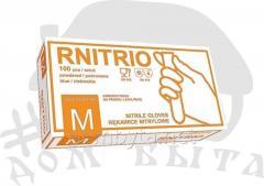 Gloves nitrile Rnitrio M