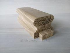 Hand-rail from an ash-tree 70*60*3000 with a