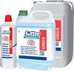 Professional detergents for hotels, restaurants,
