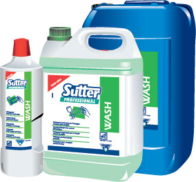 Besfosfatny detergents SUTTER Professional (Italy)