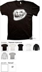 Trollface (Trollface) Cool t-shirts, T-shirts with