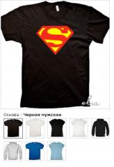 T-shirts with cool with the inscription Supermen