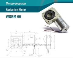 Motor-reducer with a worm gear of WGRM 96