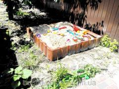 Children's sandbox of 2280