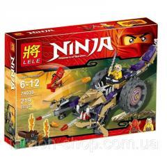 Designer of Lele series of the NINJA / Ninjia
