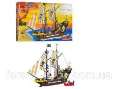 Designer of BRICK 307/298782 piracy ship, super