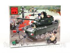 Designer of BRICK 823 Tank, excellent quality