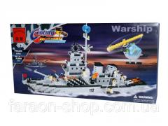 Designer BRICK 208885/112, fighting ship,