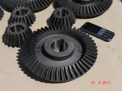 Gear wheel conic m6 z17 of reducer of electric