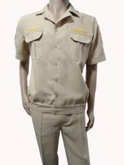 Костюм охраны летний (рубашка и брюки)