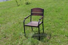 Chair C-Premium-BD Premium ferrous metal, dark