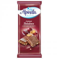 Alpinella Bakaliowa chocolate Peanut and Raisin,
