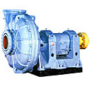 Pumps for pumping of abrasive hydromixes