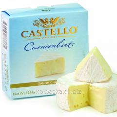 Castello Camembert cheese with a white mold, 125 g