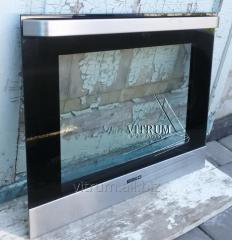 Repair of a door of an oven - replacement flew