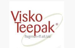 Искусственная фиброузная колбасная оболочка Visko teepak