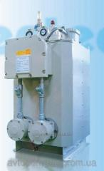 The electric evaporator for the liquefied gas