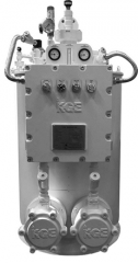 The electric KGE KEV-S-050 evaporator (for the