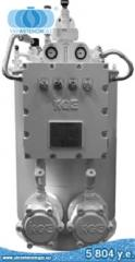 The KGE evaporator (Korea) of 100 kg/h -...