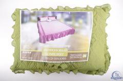 Покрывало на кровать шифоновое с подушками (размер