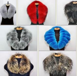 Fur collars from the producer