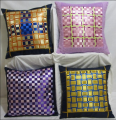 Pillowcases are decorative, an interlacing from