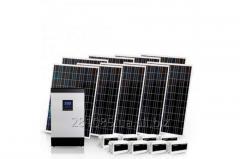 AUTONOMOUS SOLAR POWER STATION OF 2 KW