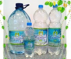Вода питьевая артезианская