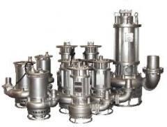 Slurry pumps (pomp) Piranha with the mixer