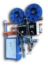 The A-1412 automatic welding machine with 2
