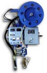 The A-1416 automatic welding machine without