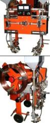 Automatic welding machine 2ts-16-1 and 2ts-16-2