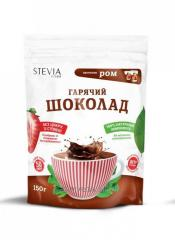 Hot chocolate with a stevia
