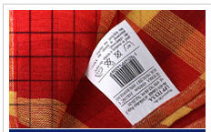 Labels textile sewed to buy, Ukraine