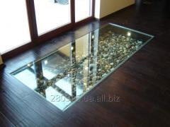 Beautiful floor glass