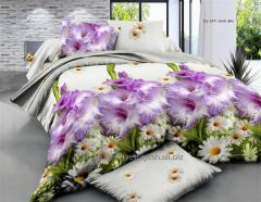 Bedding set from fabric ranfors with effect 3D