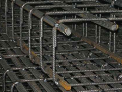 Reinforcement cages for concrete goods of a produc