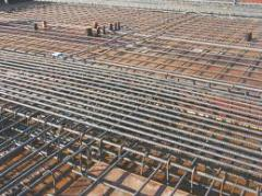Welded mesh for concrete reinforcement