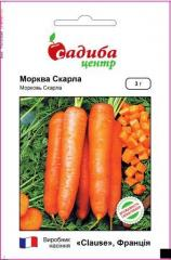 Морква столова Скарла 20грам (Садиба)