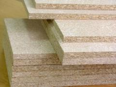 Chipboard for a timbering